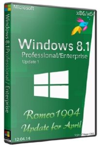 Windows 8.1 (Professional/Enterprise) Update 1 (x86/x64) Update for April (12.04.14) by Romeo1994 (2014) �������