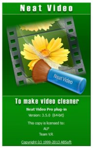 Neat Video Pro 3.5.0 for Premiere Pro (x64) RePack by Team VR [En]