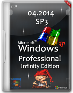 Microsoft Windows XP Professional Service Pack 3 Infinity Edition (04.2014) (x86) (2014) [RUS] (обновлена 15.04.2014)