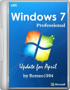 Windows 7 Professional (x86) Update for April v.14.04.14 by Romeo1994 (2014) Русский