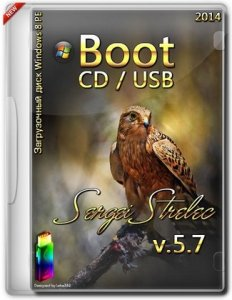 Boot USB Sergei Strelec 2014 v.5.7 (x86/x64) (Windows 8 PE) [Ru/En]