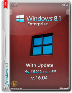 Windows 8.1 Enterprise with Update x64 [v.16.04] by DDGroup™ [Ru]