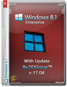 Windows 8.1 Enterprise with Update x86 [v.17.04] by DDGroup™ [Ru]