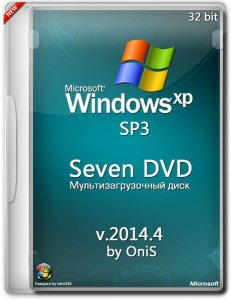 Windows XP SP3 Seven DVD 2014.4 by OniS
