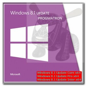 Windows 8.1 Update 1 Core/Professional/Enterprise x64 6.3 9600.17031 MSDN версия от 22.04.2014 by PROGMATRON