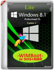 Microsoft Windows 8.1 Pro VL 17041 x64 RU Store by Lopatkin (2014) Русский
