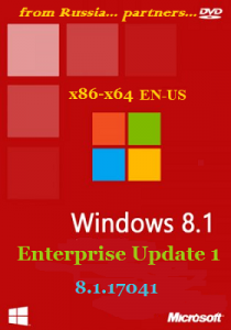 Microsoft Windows 8.1.17041 Enterprise х86-x64 EN-US by Lopatkin (2014) Английский