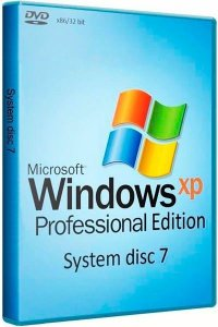 System disc 7 - Microsoft Windows® XP Professional Edition Service Pack 3 v.43.04.08 (от 01.05.2014) (x86) [RU] DVD/USB