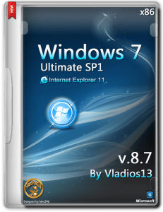 Windows 7 Ultimate SP1 x86 by vladios13 [v8.7] [Ru]