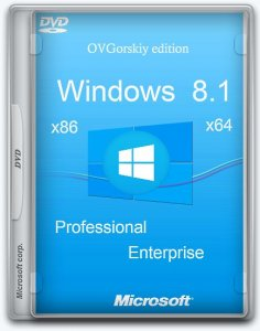 Windows® 8.1 Update1 4 in 1 w.BootMenu by OVGorskiy 05.2014 1DVD (x86 х64) (2014) [Rus]