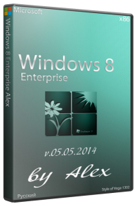 Windows 8 Enterprise by Alex v 05.05.2014 (x86) (2014) [Rus]