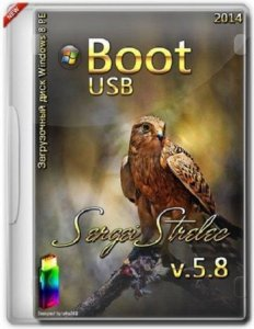 Boot USB Sergei Strelec 2014 v.5.8 (x86) (Windows 8 PE) [Ru/En]