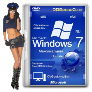 Windows 7 ������������ Orig w.BootMenu by OVGorskiy 05.2014 1DVD (32bit+64bit) (2014) [Rus]