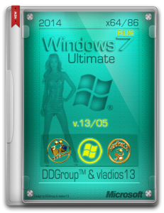 Windows 7 Ultimate SP1 x64x86 [v13.05] by DDGroup™ & vladios13 [Ru]