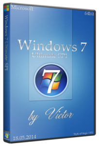 Windows 7 SP1 Ultimate by Victor (x64) (2014) [Mul/Rus]