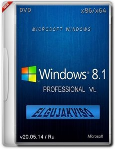 Windows 8.1 Pro Elgujakviso Edition v20.05.14 (x86/x64 )(2014) [Rus]
