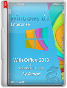 Windows® 8.1™ Enterprise with Office 2013 by -=Qmax=- (x86-x64) (2014) [Rus]