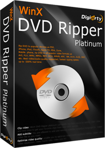 WinX DVD Ripper Platinum v7.5.5 Build 25.04.2014 Final [2014,Ml\Rus]