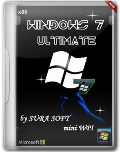 Windows 7 SP1 Ultimate by Sura Soft mini WPI (x86) (2014) [RUS]