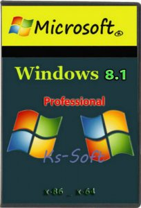 Windows 8.1 Pro by Ks-Soft (х86/x64) (2014) [Rus]