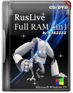 RusLiveFull RAM 4in1 by NIKZZZZ CD/DVD (01.06.2014) [Ru/En]
