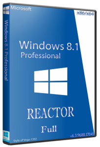 WINDOWS 8.1 PRO REACTOR FULL 6.3.9600.17041 (x86-x64) (2014) [RUS]