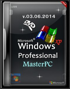 Windows XP SP3 MasterPC WinStyle Edition DVD v.03.06.2014 Rus Professional SP3 x86 (2014) Русский
