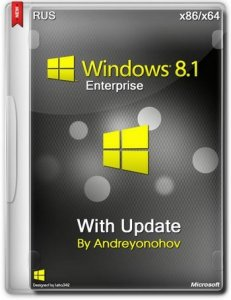 Windows 8.1 Enterprise with Update by Andreyonohov 2 DVD (x86/x64) (2014) [RUS]