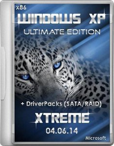 Windows® XP Sp3 XTreme™ Ultimate Edition 04.06.14 + DriverPacks (SATA/RAID) (2014) Русский