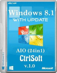 Microsoft Windows 8.1 with Update AIO v1.0 (24in1) - CtrlSoft (x86-x64) (2014) [RUS-ENG]
