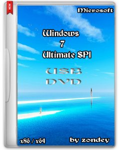 Windows 7 Ultimate SP1 USB_DVD by zondey v.6.14 (x86x64) (2014) [Ru]