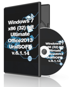 Windows 7 Ultimate Office2013 UralSOFT v.6.1.14 (x86) (2014) [Rus]