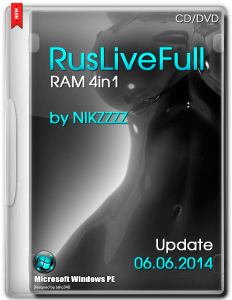 RusLiveFull RAM 4in1 by NIKZZZZ CD/DVD (06.06.2014) [Ru/En]