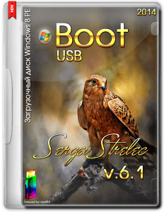 Boot USB Sergei Strelec 2014 v.6.1 (x86/x64) (Windows 8 PE) [Ru/En]