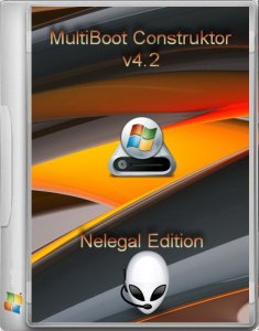 Multiboot USB Flash NeleGal Edition UEFI v4.2 [Ru]