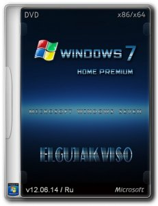 Windows 7 Home Premium SP1 Elgujakviso Edition v12 (x86/x64) (2014) [Ru]