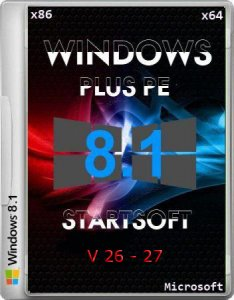 Windows 8.1 Pro VL Plus PE StartSoft 26 27 (x86/x64) (2014) [Ru]