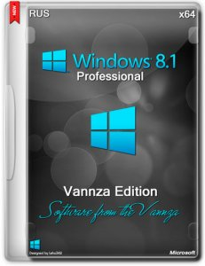 Windows 8.1 Pro With Update Vannza (x64) (2014) [Ru]