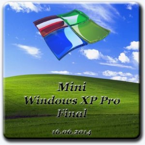 Mini Windows XP Pro (16.06.2014) Final [Ru]