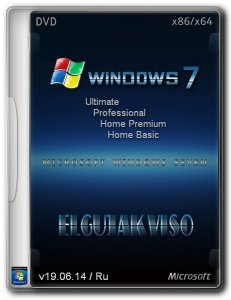 Windows 7 SP1 4in1 Elgujakviso Edition (x86/x64) (v19.06.14) [Ru]