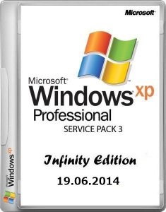 Microsoft Windows XP Professional Service Pack 3 Infinity Edition (19.06.2014) (x86) [2014, RUS] (обновлена 19.06.2014)