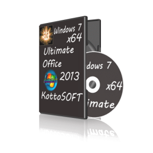 Windows7 Ultimate Office 2013 KottoSOFT v.16.6.14 (x64) (2014) [Rus]
