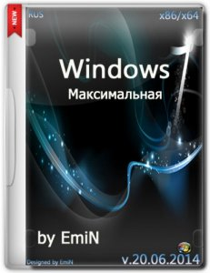 Windows 7 Ultimate SP1 by EmiN (x86-x64) (2014) [Rus]