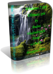 Windows 7 SP1 Ultimate by Andrei Vladimirovich Nosar v2.06.14 (x64) (2014) [Rus]