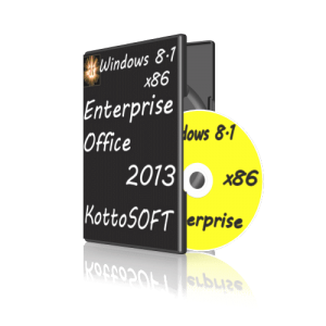 Windows 8.1 Enterprise Office 2013 KottoSOFT v.28.6.14 (x64) (2014) [Rus]