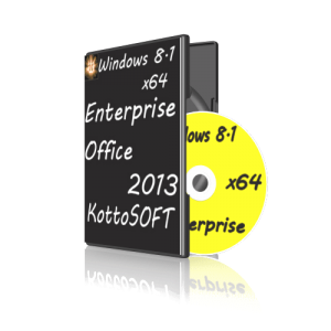 Windows 8.1 Enterprise Office 2013 KottoSOFTv.28.6.14 (x64) (2014) [Rus]