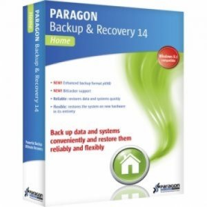 Paragon Backup and Recovery 14 Home 10.1.21.287 RePack by D!akov [En]