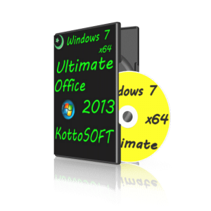 Windows 7 Ultimate Office 2013 KottoSOFT.V.02.7.14 (x64) (2014) [Rus]
