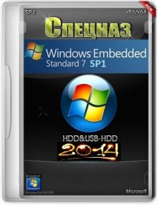 Microsoft Windows Embedded Standard 7 SP1 x86-x64 En-RU HDD/USB-HDD СПЕЦНАЗ 2014 by Lopatkin (2014) Русский + Английский