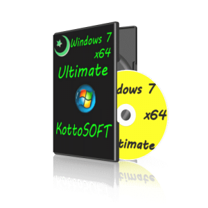Windows7 Ultimate KottoSOFT V.05.07.14 (64 bit) (2014) [RUS]